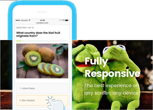 3 WordPress için Viral Quiz Maker — OnionBuzz -