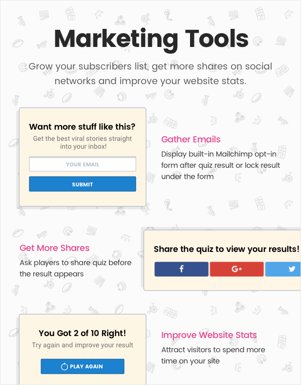 WordPress için Viral Quiz Maker — OnionBuzz -