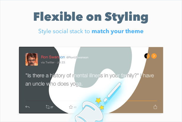 WordPress Social Stacks — Responsive Slider 8