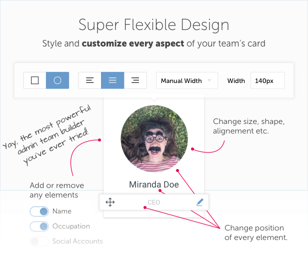 Team Builder — Meet The Team WordPress Plugin 8