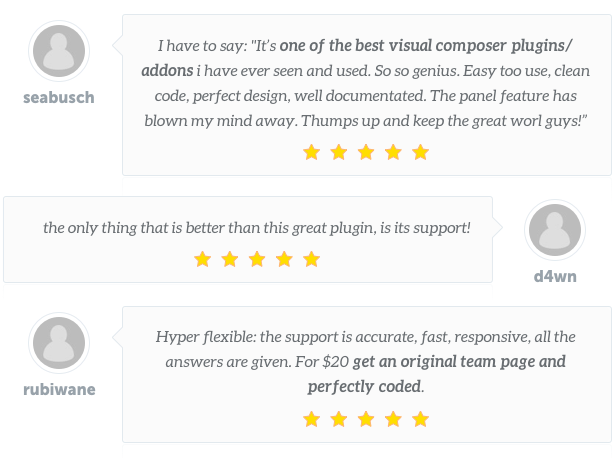Team Builder — Meet The Team WordPress Plugin 11
