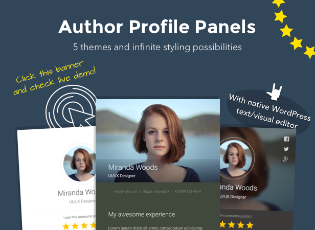 Excited! — Testimonials Showcase for WordPress