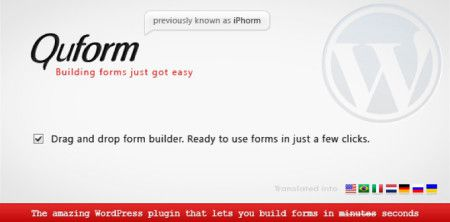Quform Form Builder Plugin for WordPress