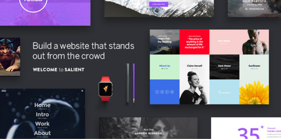 Salient — Responsive Multi-Purpose Theme