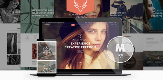 Moose — Creative Multi-Purpose WordPress Theme