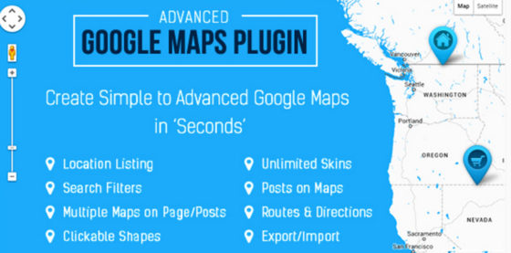 Advanced Google Maps Plugin