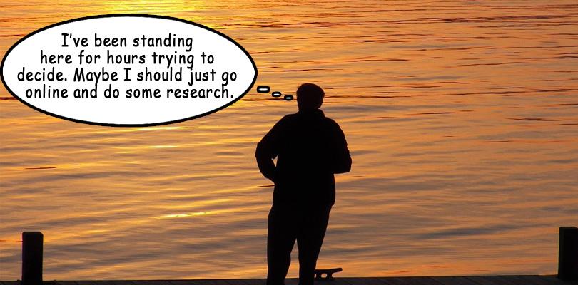 Man-thinking-by-lake