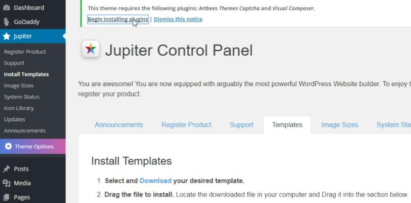 install-jupiter-begin-installing-plugins