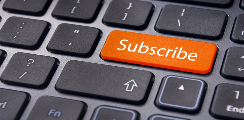 Subscription to Newsletters Widget