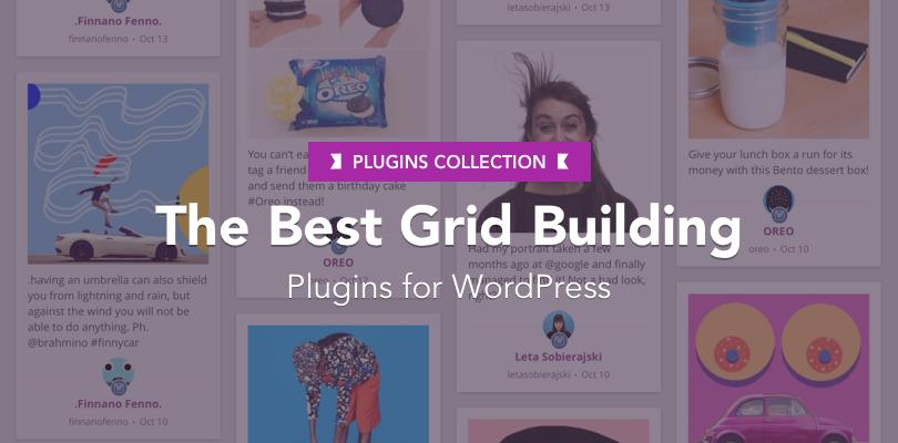 Best Grid Building Plugins WordPress