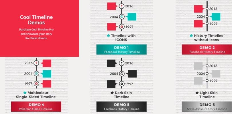 Cool Timeline Pro — WordPress Timeline Plugin