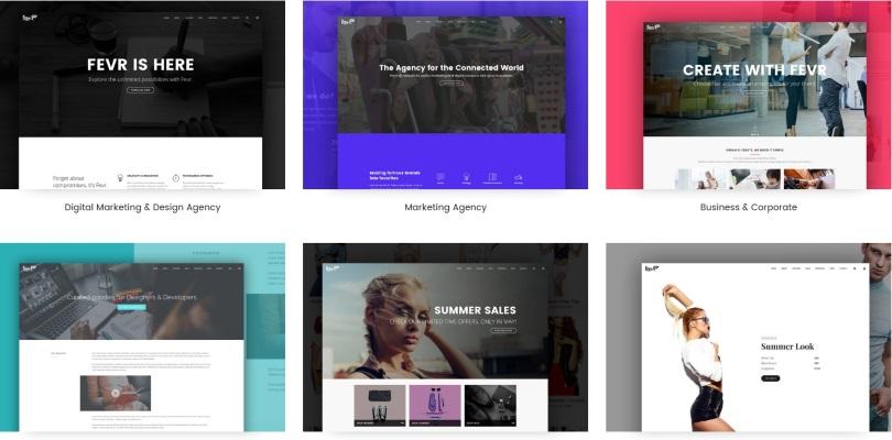 Fevr - Creative MultiPurpose Theme