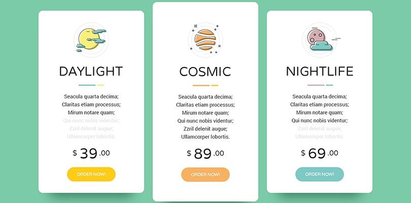 Create perfect pricing tables with premium wordpress plugins for Table design wordpress plugin